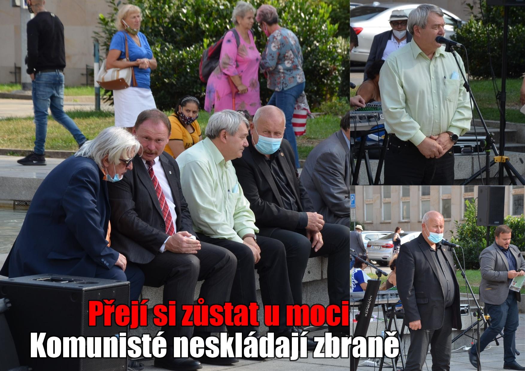 Předseda KSČM Filip: Nebát se jít volit. Komunisté se nezapomněli dívat do minulosti