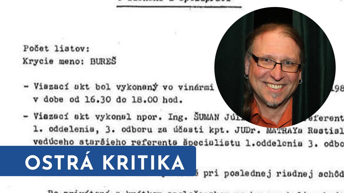 Občanský aktivista Drápal se obul do premiéra. Bureš by zasloužil pendrekem!