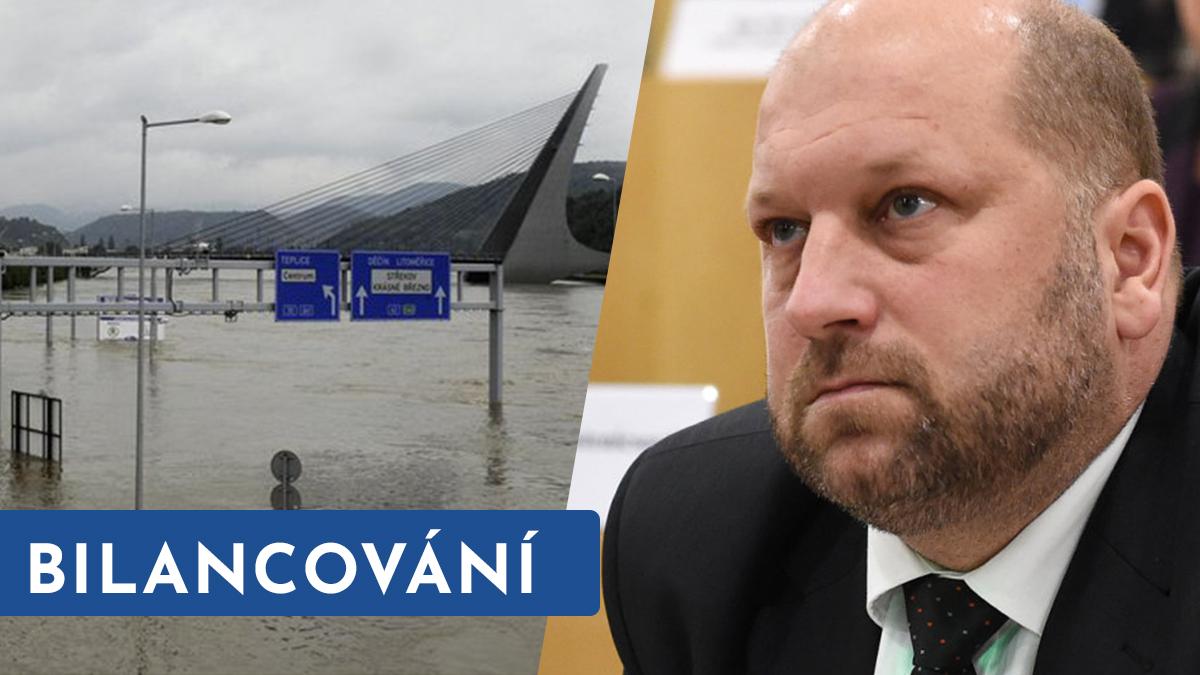 Bilancování vedení kraje: povodně, kolaps dopravy a dozvuky kauzy ROP. A dluhy, připomíná opozice!