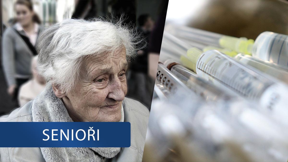 Očkování v domovech seniorů: Část zaměstnanců se bojí, některá zařízení na vakcínu teprve čekají