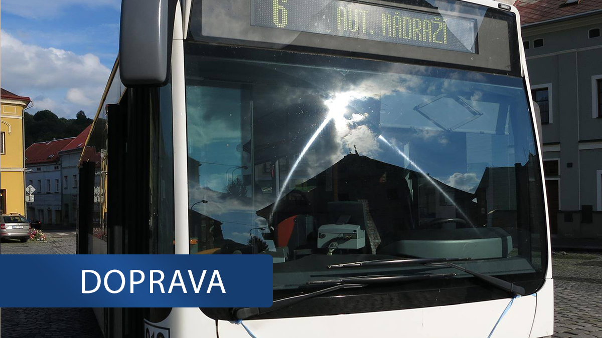 Děčínský dopravní podnik má nedostatek řidičů. Jsou v karanténě nebo v izolaci
