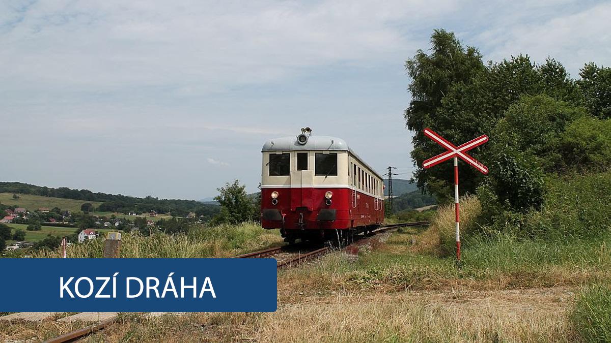 Obnovení Kozí dráhy? Správa železnice část tratě opraví