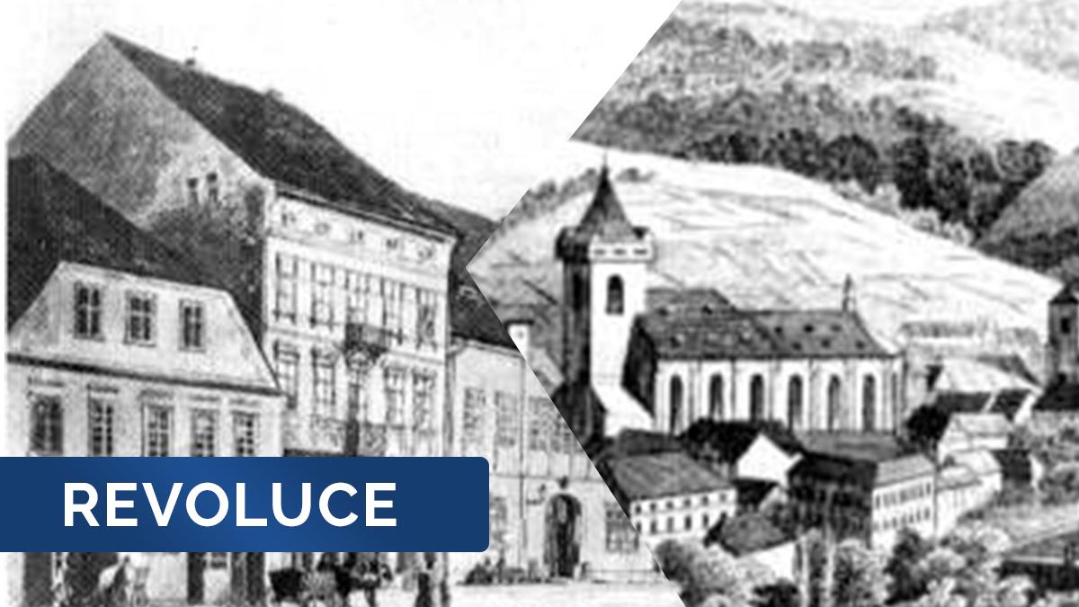 Cestování časem: revoluční rok 1848 smetl poddanství. Do města přišly nové elity, šlechta utřela nos